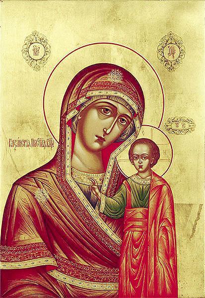 Казанская чудотворная икона Божьей матери
