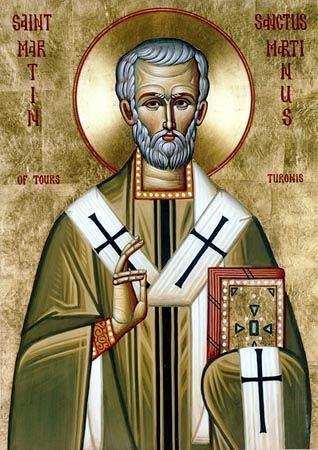 Святитель Мартин Милостивый