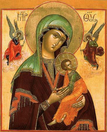 Икона Божьей Матери именуемая Страстная