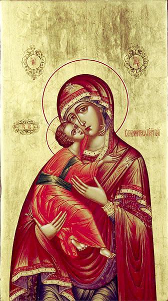 икона Пресвятой Богородицы именуемой Владимирская