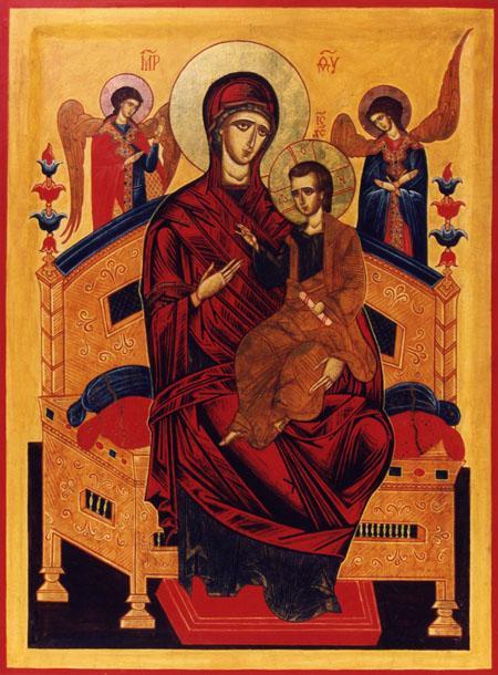 Икона Божьей Матери именуемая Всецарица