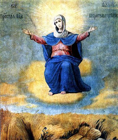 Икона Божьей Матери Спорительница хлебов