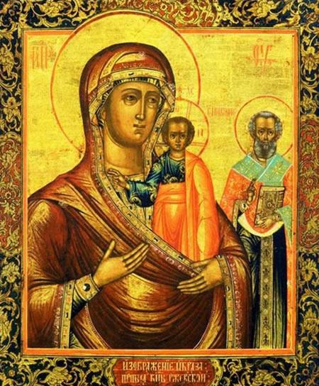Икона Божией Матери «Оковецкая» («Ржевская»)